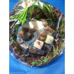 Chocolats en bouquet