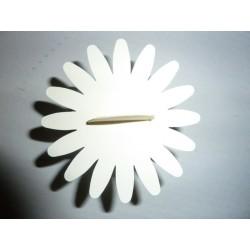 Berlingot en carton ivoire avec soleil