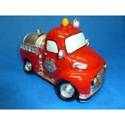 Tirelire voiture de pompier