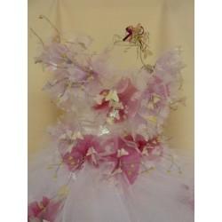 Bonbonnière originale sur robe de mariée