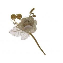 fleur organza or