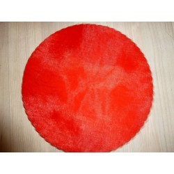 Tulle organza rouge vif