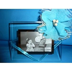 Cadre-photo en verre neutre