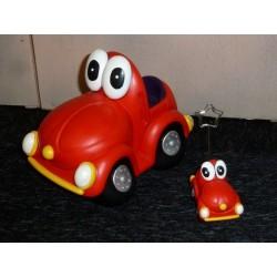 voiture porte-photo rouge