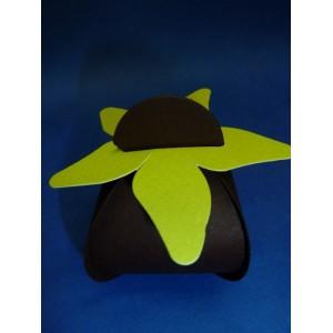 Berlingot en carton chocolat