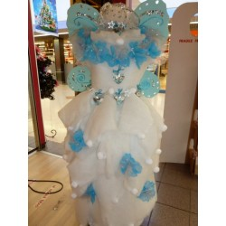 Robe de mariée en dragées