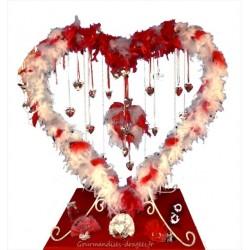 Bonbonnière coeur garnie