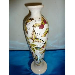 vase en émaux de Longwy