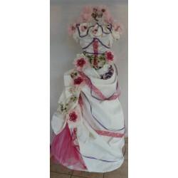 Bonbonnières sur une robe