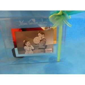 Cadre-photo en verre gravé