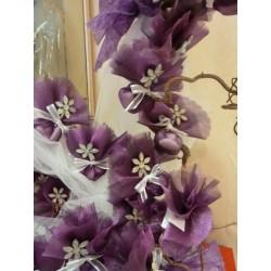 Pince fleur avec strass