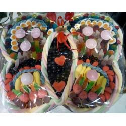 Gâteau de bonbons forme papillon