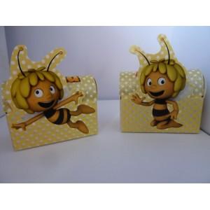 Boite en carton Maya l'abeille