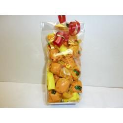 Bonbons à la mirabelle fourrés fruit et liqueur