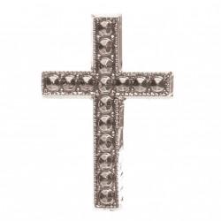 croix à coller ARGENT