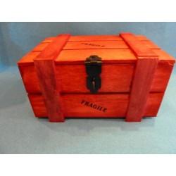 Coffre en bois à garnir 500 g