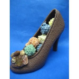 Chardons lorrains dans une chaussure