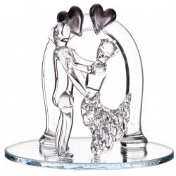 Couple arcade sur miroir
