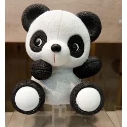 Tirelire panda noir et blanc