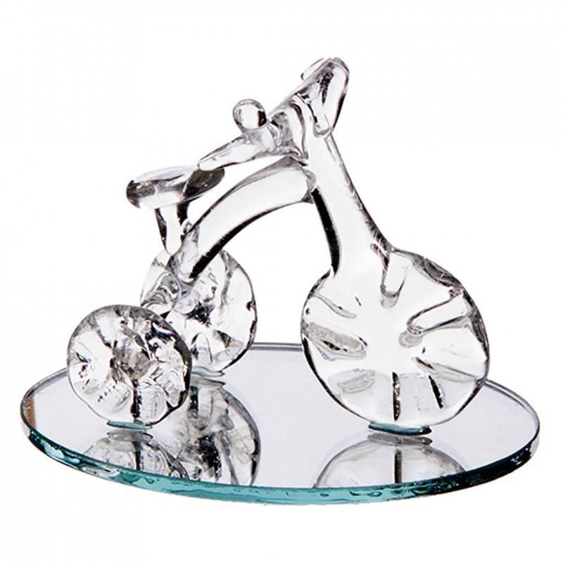 Tricycle sur miroir grand modèle