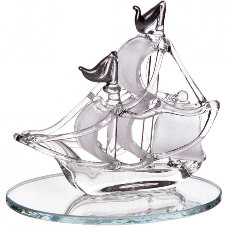 bateau en cristallin
