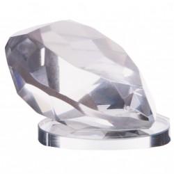 coeur diamant sur miroir