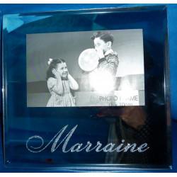 cadre photo en verre MARRAINE