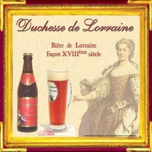 Bière Lorraine  la Duchesse de Lorraine