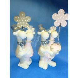 Girafe porte Photo-clip