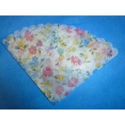 Tulle original imprimé fleurs